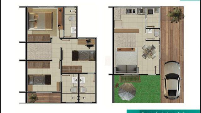 Casa Duplex em Condomínio Região Oceânica - Lançamento - Foto 3
