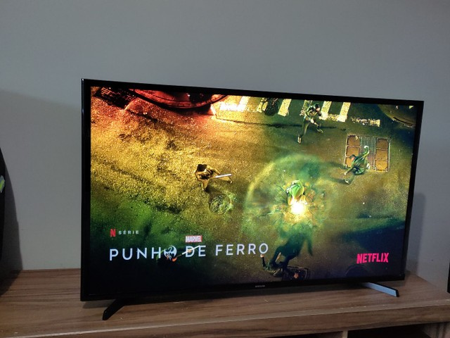 """Vendo Tv Samsung smart 43"""" ou troco por uma de 60 - Foto 5"""