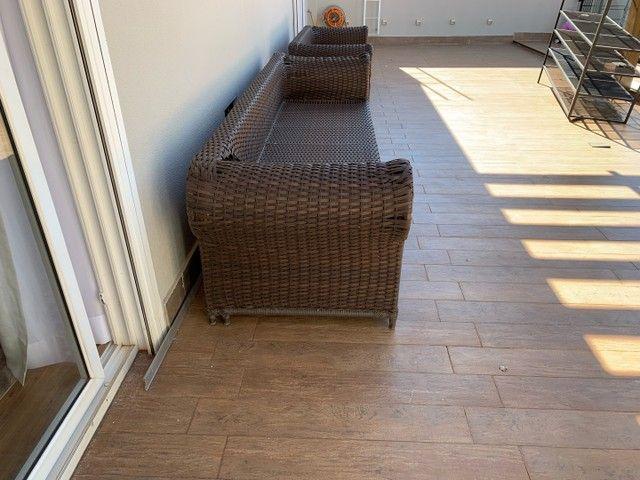 Jogo de sofás para área externa em fibra sintética  - Foto 3