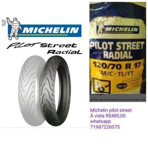 Pneu michelin pilot street 120 70 17