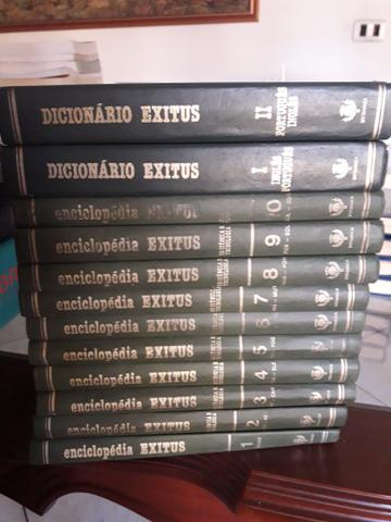 Coleção- Enciclopédia Exitus + Dicionário Exitus
