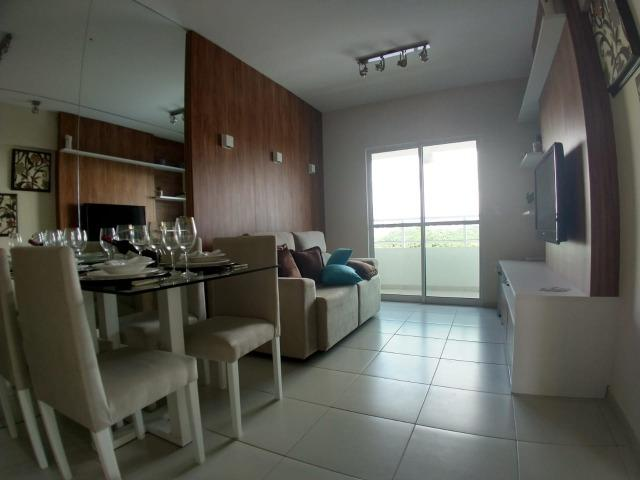 Apartamento com dois dormitórios no bairro de Lagoa Nova, próximo ao Sebrae-RN