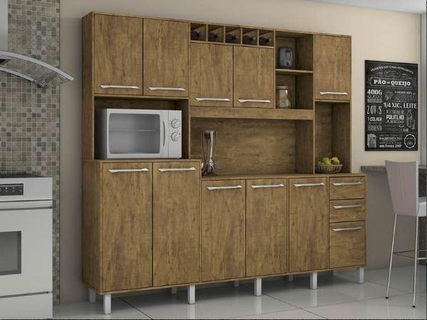 Cozinha Petra 11 Pts, 2 Gts e Mini Adega ( Em até 12 X sem Juros ) - Foto 3