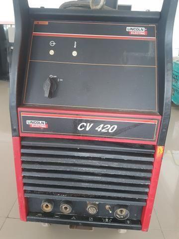 Maquina de solda mig mag lincoln 420 - Foto 3
