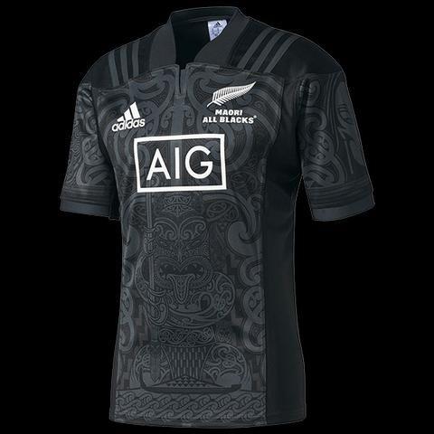 67c785c26 Camisa Rugby Maori Nova Zelândia 2018 Tamanho 2xl Slimfit - Esportes ...