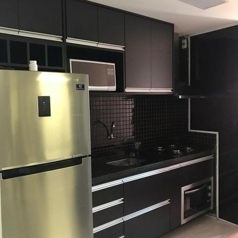 Lindo apartamento mobiliado e duas vagas de garagem - Foto 9