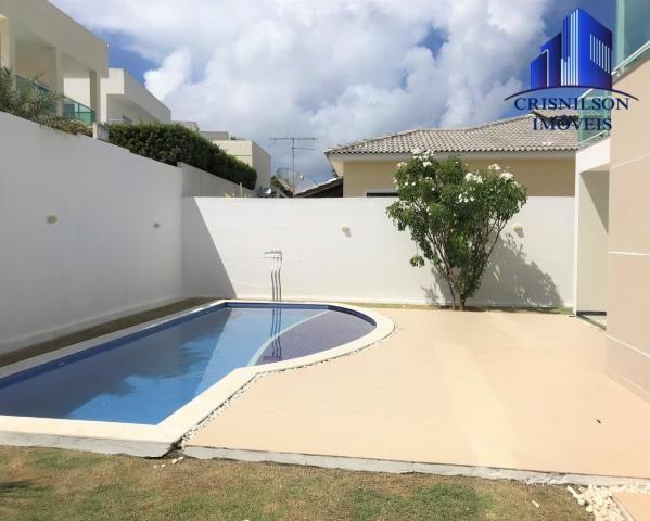 Casa à venda alphaville litoral norte i, r$ 1.400.000,00, excelente, 4 suítes, piscina nov - Foto 7