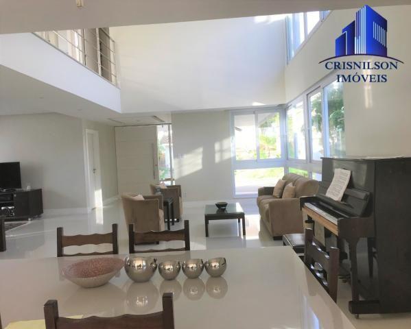CASA À VENDA EM ALPHAVILLE I SALVADOR, R$ 2.900.000,00, NOVA, ESPAÇO GOURMET, 600 M² CONST - Foto 8