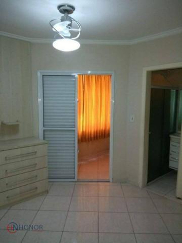 Apartamento com 3 dormitórios à venda, 90 m² por r$ 399.000 - parque das nações - santo an - Foto 3
