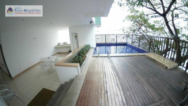 Apartamento com 3 dormitórios à venda, 70 m² - Graça - Salvador/BA - Foto 14