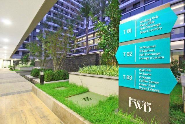 Ótimo apartamento de 1 dormitório para alugar, 42 m² por R$ 1.800/mês - Central Parque - P - Foto 18