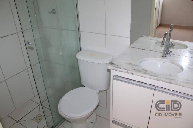 Apartamento duplex com 3 dormitórios para alugar, 108 m² por r$ 1.800/mês - goiabeiras - c - Foto 14