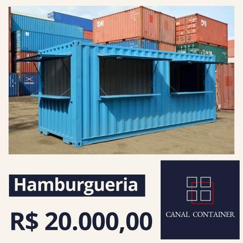 Lanchonete / Hamburgueria Container