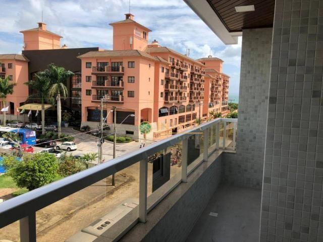 Apartamento com 3 dormitórios sendo 1 suíte, com 2 vagas de garagem e vista mar. - Foto 4