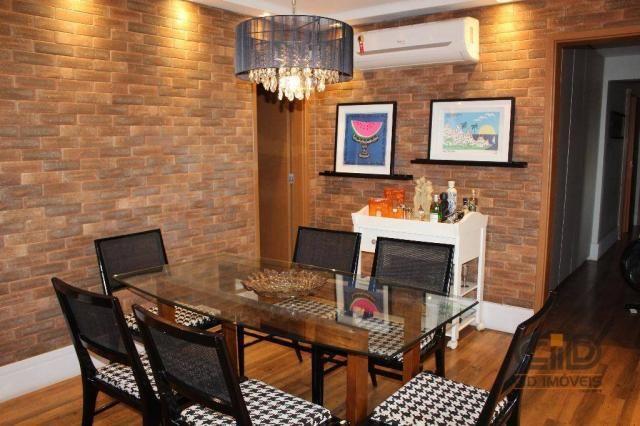 Apartamento com 4 dormitórios à venda, 141 m² por r$ 750.000 - jardim aclimação - cuiabá/m - Foto 3