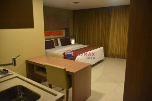 Loft com 1 dormitório à venda, 30 m² por r$ 320.000 - zona industrial - guará/df - Foto 5