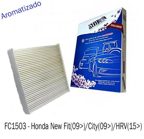 Filtro Ar Cabine Honda / City / New Fit