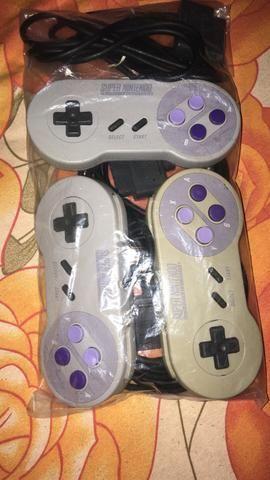 Controle original super Nintendo