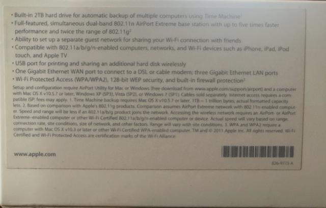 Airport Time Capsule 2 T Modelo A1409 - Foto 3