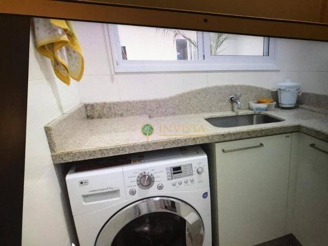 Amplo apartamento de 3 dormitórios sendo 2 suítes no Jurerê Internacional - Foto 10