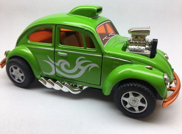 Miniatura Fusca Custom Dragracer Cores Variadas