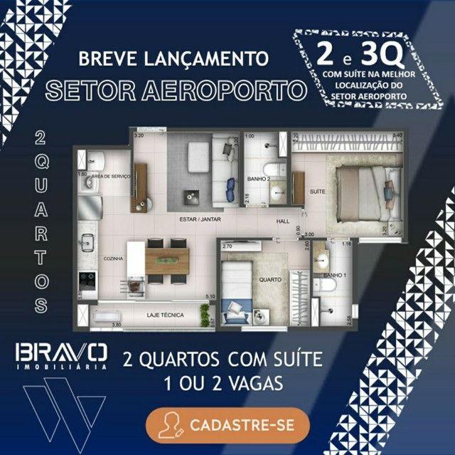 Apartamento de 2/4 com Suíte Setor Aeroporto, Entrada 22 mil - Foto 11