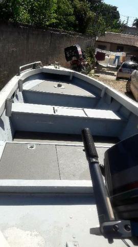 Barco de aluminio 5 metros - Foto 2
