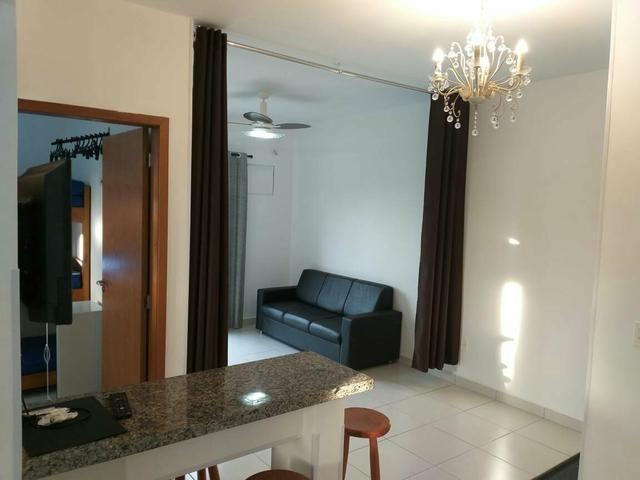 Apartamento mobiliado de TEMPORADA novinho bem localizado