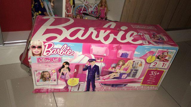 Brinquedos da Barbie avião