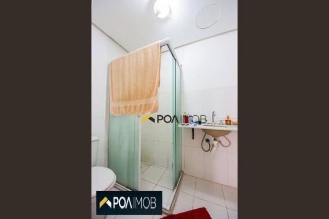 Apartamento com 2 dormitórios para alugar, 54 m² por R$ 1.800,00/mês - Protásio Alves - Po - Foto 17