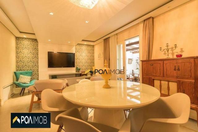 Casa com 3 dormitórios para alugar, 256 m² por R$ 3.000,00/mês - Vila Jardim - Porto Alegr - Foto 4