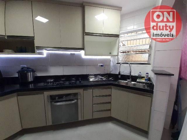Apartamento com 2 dormitórios à venda, 67 m² por R$ 165.000,00 - Saboó - Santos/SP - Foto 6