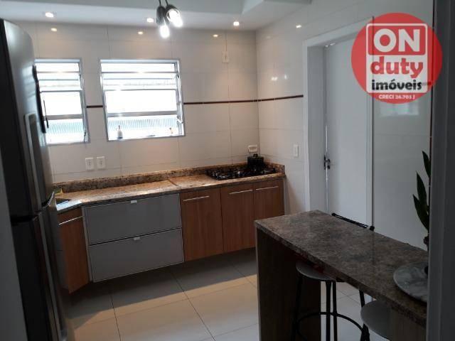 Apartamento com 3 dormitórios à venda, 120 m² por R$ 630.000 - Aparecida - Santos/SP - Foto 5