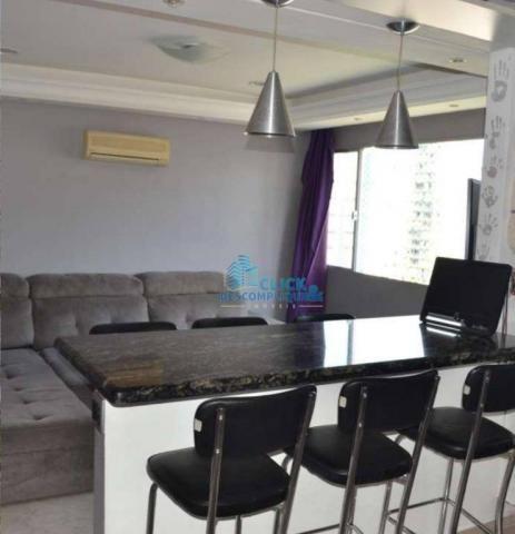 Apartamento com 1 dormitório à venda, 63 m² por R$ 399.000,00 - Ponta da Praia - Santos/SP - Foto 2