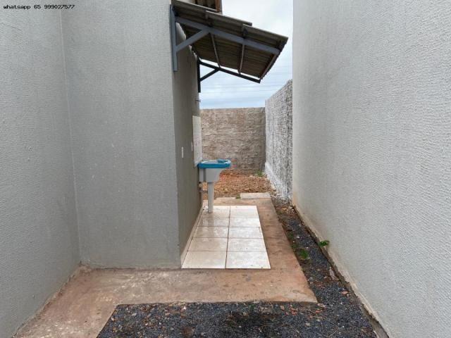 Casa para Venda em Várzea Grande, Jequitibá, 2 dormitórios, 1 banheiro, 2 vagas - Foto 8
