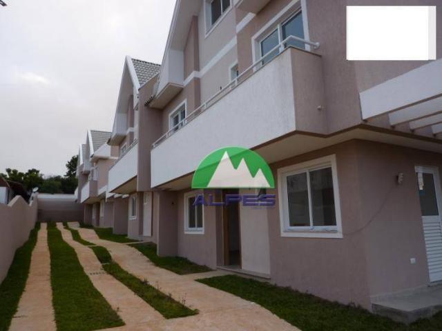 Sobrado com 3 dormitórios à venda, 110 m² por R$ 360.000 - Bairro Alto - Curitiba/PR