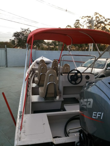 Barcos personalizados para pesca e passeio HF Boats - Foto 4