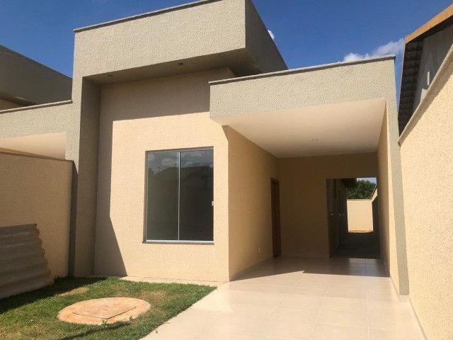 Casa 3/4 com Suite toda no Porcelanato - Res. Itaipu - Goiânia