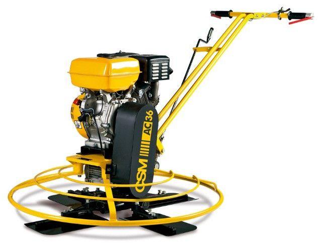 Alisadora de Concreto à Gasolina AC 36 Rental 9HP 4 Tempos Motor Lifan - CSM