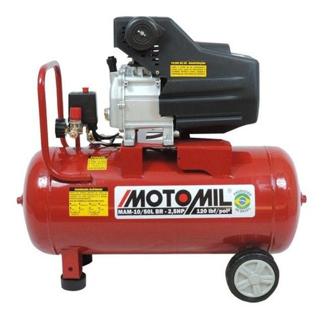 Compressor de ar 50 litros 2 hp potente novo de fabrica e preço de custo