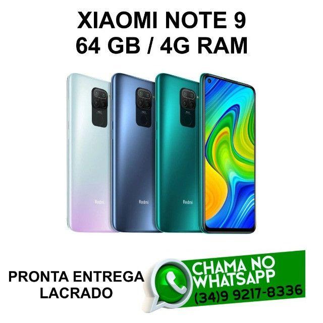 Celular Xiaomi Note 9 64Gb Original Lacrado * Pronta Entrega * Loja Física