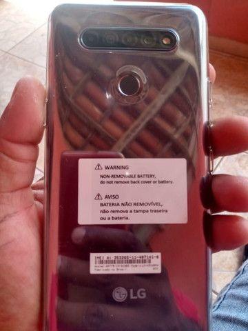 Vendo ou troco, LGK51S 64GB semi novo!  - Foto 5