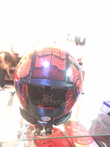 Capacete axxis Snake  - Foto 3