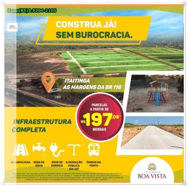 Itaitinga Loteamento- Adquira já o seu !>! - Foto 9