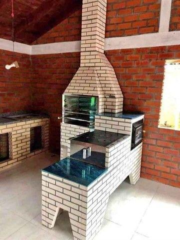 trio caipira churrasqueira fogão a lenha forno - Foto 2