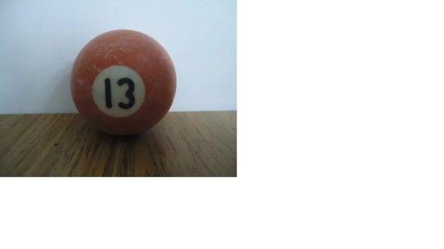 Bola de Bilhar Nº 13 - 16cm