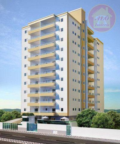 Apartamento com 2 dormitórios à venda, 68 m² por R$ 314.600 - Vila Guilhermina - Praia Gra - Foto 3