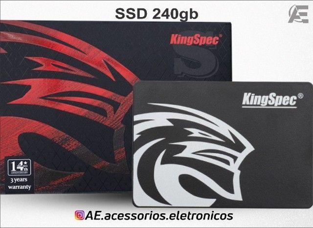 SSD 240gb kingspec - Entregamos e Aceitamos Cartões