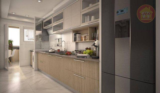 Apartamento com 2 dormitórios à venda, 68 m² por R$ 314.600 - Vila Guilhermina - Praia Gra - Foto 8