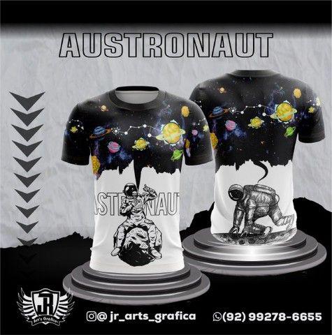 Camiseta Sublimação total - Foto 5